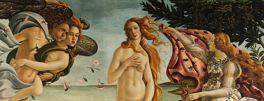 Sandro Botticelli - Geburt der Venus
